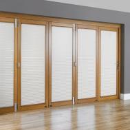 Door Cool Patio Blinds Ideas Well Brown Rectangle