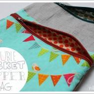 Double Pocket Lined Zipper Bag Easy Whitney Sews