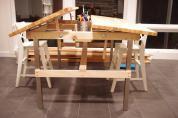 Drafting Tables Ease Accomplishing