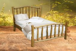 Dreamcatcher High End Rustic Wooden Bed Feelgood Eco