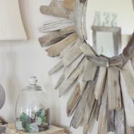 Driftwood Mirror 100 Bathroom Diy
