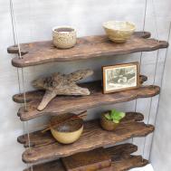 Driftwood Shelves Display Shelving System