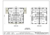 Duplex Floor Plans Houses Flooring Ideas Blogule
