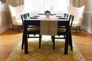 Dwell Tell Dining Room Updates Curtains Rug