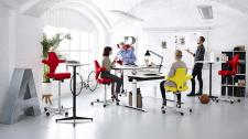 Dynamic Environments Posts Office Workstations