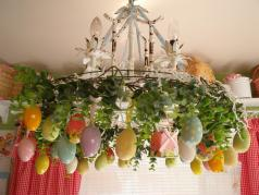 Easter Decorations 2017 Grasscloth