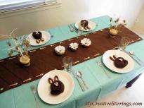 Easter Table Runner Ideas Temasistemi