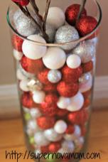 Easy Christmas Centerpieces Supernova Mom