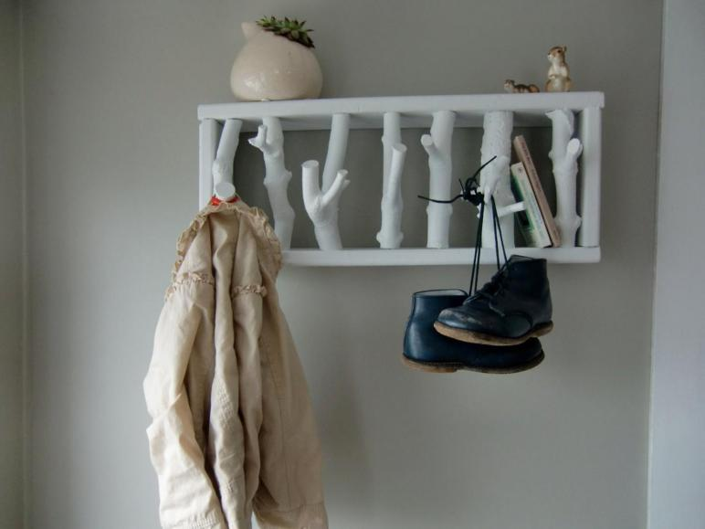 Easy Diy Coat Rack Design Ideas