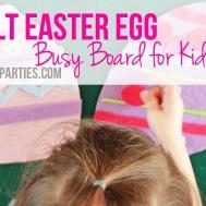 Easy Diy Felt Easter Egg Activity Kids