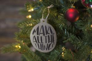 Easy Diy Leather Christmas Ornaments Polka Dot Chair