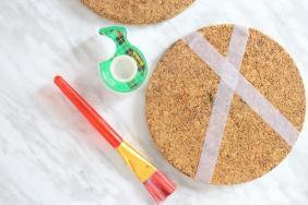 Easy Diy Pastel Cork Coasters Home Decor Ideas