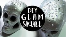 Easy Diy Skull Decor Glam Style