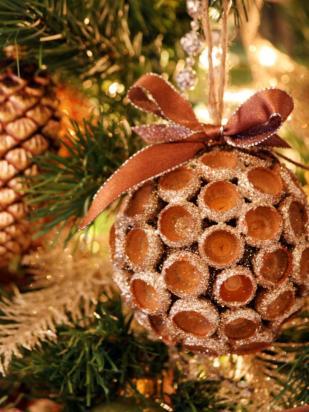 Easy Handmade Holiday Ornaments Decorations