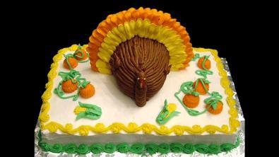 Easy Thanksgiving Cake Decorating Ideas