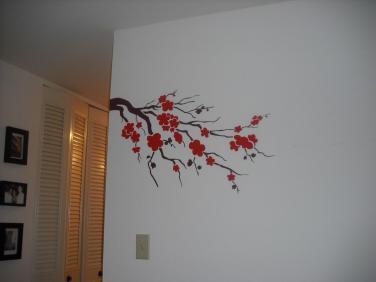 Easy Wall Paint Design Diy Art