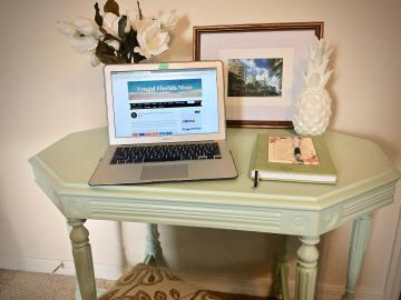 Easy Weekend Diy Project Chic Table Makeover