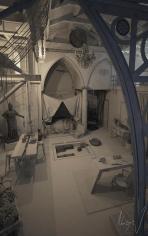 Eclectic Loft Romanesque Meet Gothic Behance