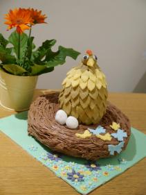 Egg First Then Chicken Easter Nest Cake Mummy Makes Cakes
