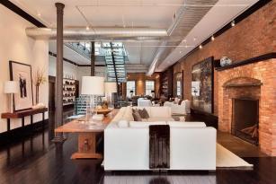 Elegant Classic Loft Heart Tribeca
