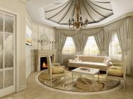Elegant Curtains Living Room Luxurious