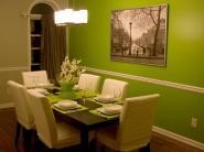 Elegant Lime Green Dining Room Ideas Light