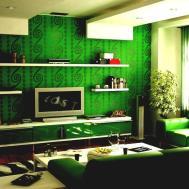 Emerald Green Decor Stilettos Sweatpants