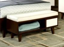 End Bed Storage Bench Elegant Furniture Design