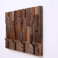 Engrossing Hooks Hook Reclaimed Wood Vertical Planking