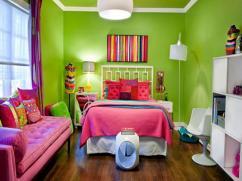 Entrancing Lime Green Room Decorations Design