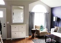 Entryway Mirror Hooks Shelf Furniture