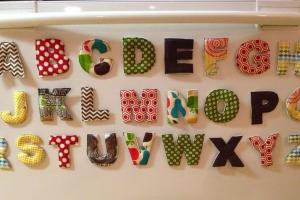 Everyday Jayne Diy Alphabet Fridge Magnets