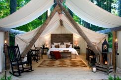 Exclusive Luxury Tent Cabins Olympia Washington
