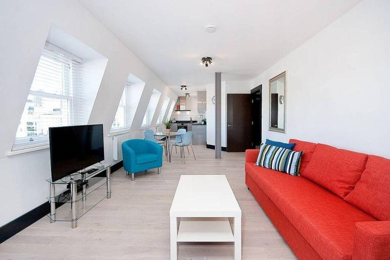 Explore London Penthouse Apartment Revamped