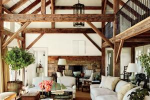 Expose Your Rusticity Exposed Beams