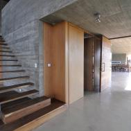 Exposed Aggregate Finish Walls Interior Design Ideas