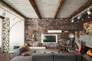 Exposed Brick Wall Interior Design Ideas
