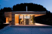 Exterior Facade Modern Minimalist Lake Design Wood