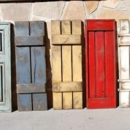 Exterior Shutters Here Several Rustic Styles