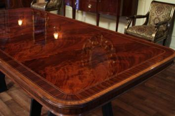 Extra Large Dining Room Table High End American Finished