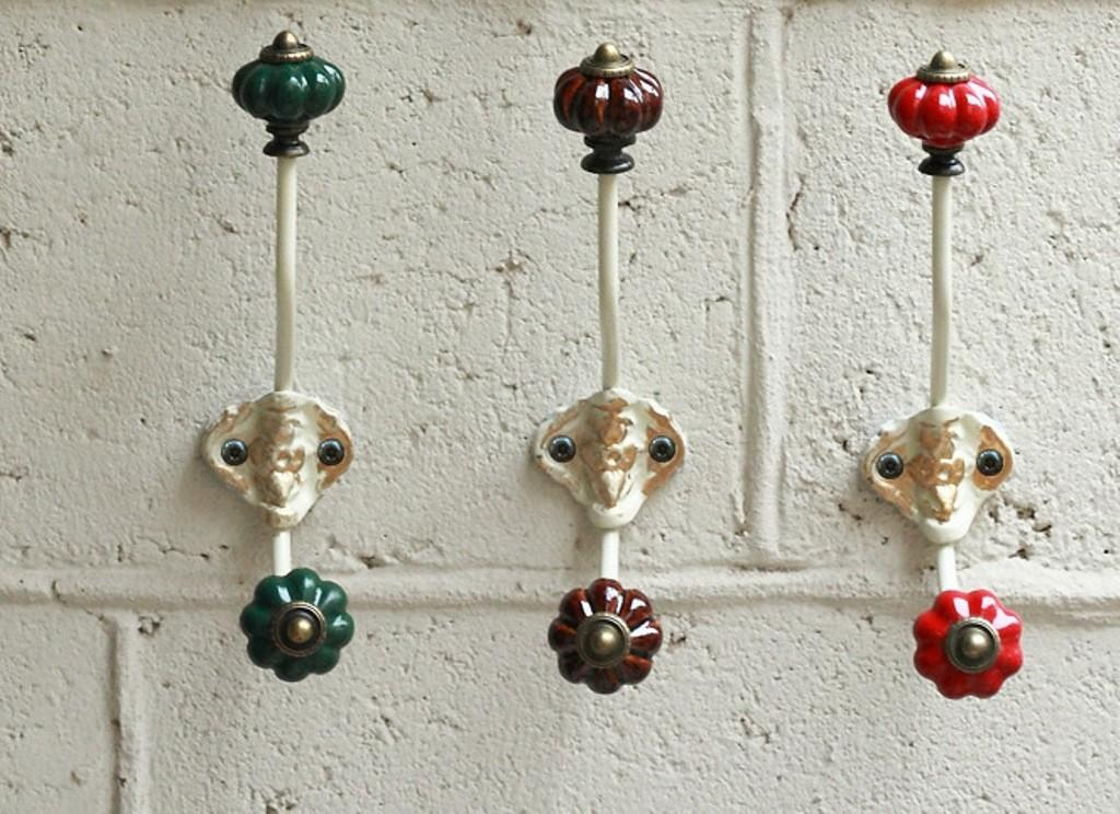 Extraordinary Decorative Wall Hooks Hanging Design Decoratorist 87967