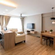 Extraordinary Living Room Design Singapore