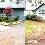 Fabulous Simple Landscaping Ideas Front Yard Before
