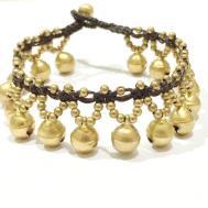 Fair Trade Handmade Jewellery Big Jingle Bell Brass Bead