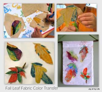 Fall Crafts Fabric