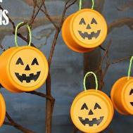 Fall Decor Tin Can Pumpkins Pet Food Hometalk