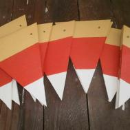 Fall Garland Easy Diy Candy Corn Creative Days