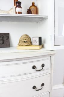 Fall Home Decor Entryway Shelves Bees Pod