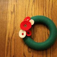 Famiglia Real Life Diy Yarn Wreath