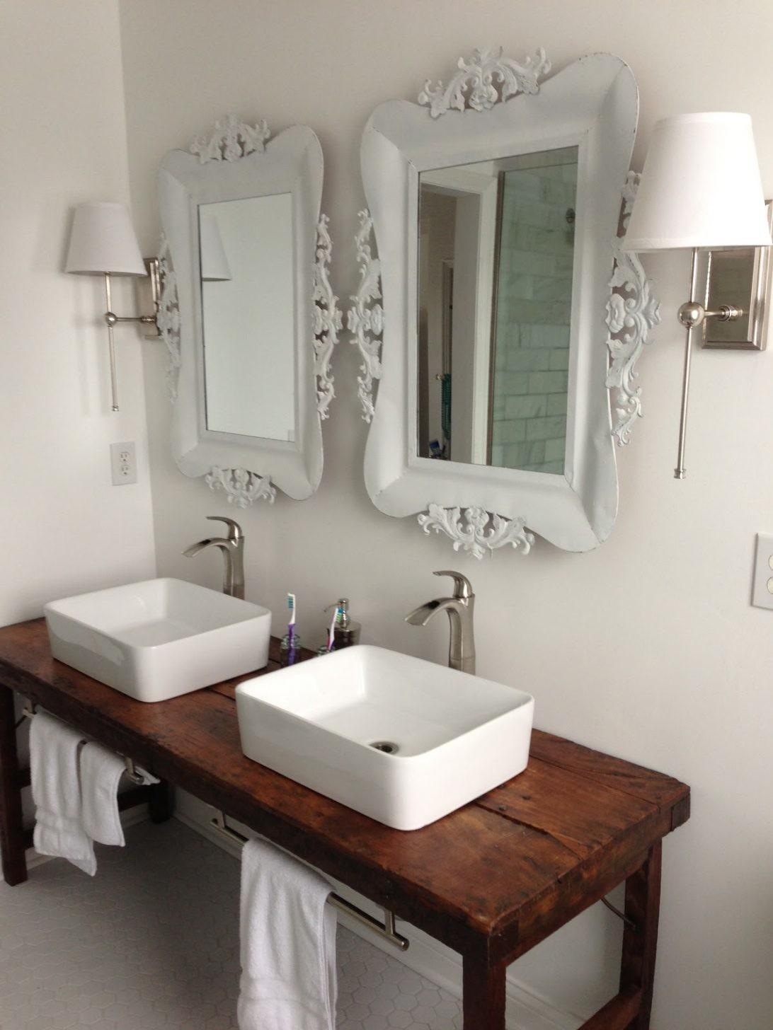 Farmhouse Bathroom Vanity Sink Industrial Decoratorist 227413